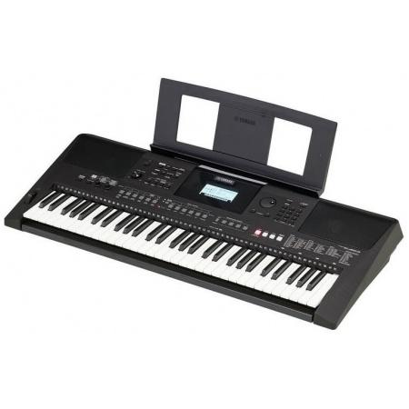 YAMAHA PSR-E463 - popularny edukacyjny keyboard + pulpit