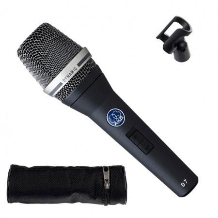AKG D7 S - mikrofon dynamiczny z włącznikiem