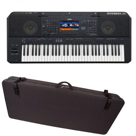 YAMAHA PSR SX900 keyboard + case