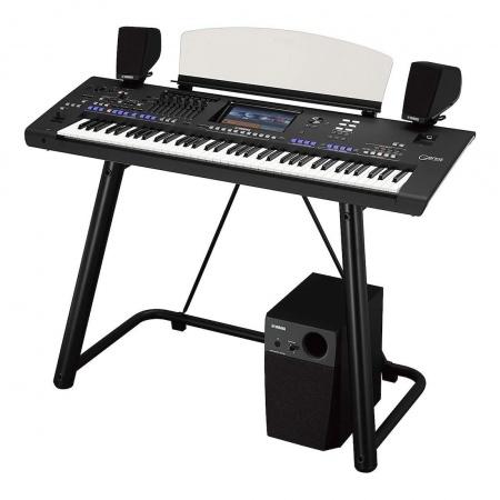 YAMAHA GENOS - MAXI ZESTAW keyboard + głośniki GNS-MS01+ statyw L7B