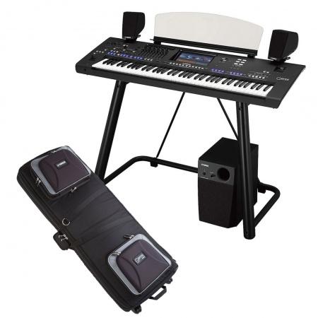 YAMAHA GENOS - MEGA ZESTAW keyboard + głośniki GNS-MS01+ statyw L7B + pokrowiec SCC-GENOS