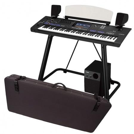YAMAHA GENOS - MEGA ZESTAW2 keyboard + głośniki GNS-MS01+ statyw L7B + pokrowiec ROMANOWICZ