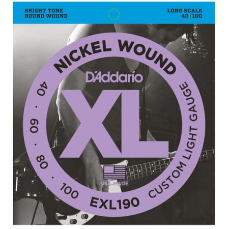 D'ADDARIO EXL 190 40/100 - struny gitara basowa