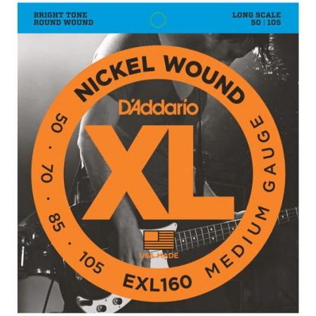 D'ADDARIO EXL 160 50/105 - struny gitara basowa