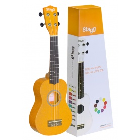 STAGG US-LEMON - ukulele sopranowe