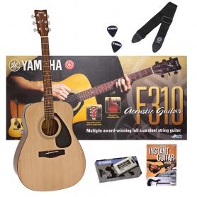 YAMAHA F310 NAT P2 - gitara akustyczna + zestaw idealny na prezent