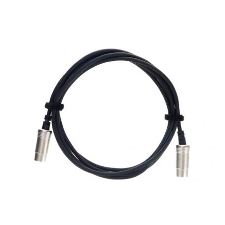 CORDIAL CFD 3 AA - kabel MIDI 5-pin 3m metalowe wtyki