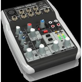 BEHRINGER XENYX Q502USB - mikser audio do domowego studia