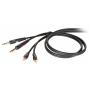 PROEL DIE-HARD DHG535LU3 - kabel 2xRCA - 2xJack 6, 3m