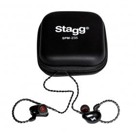 STAGG SPM-235 BK - douszne monitory słuchawkowe