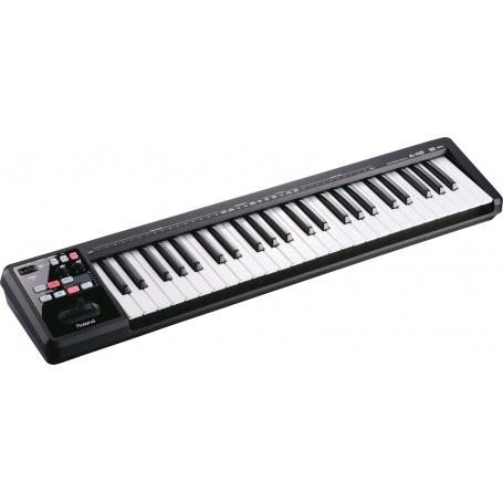 ROLAND A-49 BK - przenośny profesjonalny kontroler MIDI