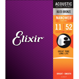 ELIXIR 11027 NW 11-52 struny gitara akustyczna