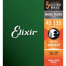 ELIXIR 14207 45-135 NW struny gitara basowa 5-strunowa