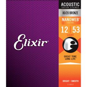ELIXIR 11052 NW 12-53 struny gitara akustyczna