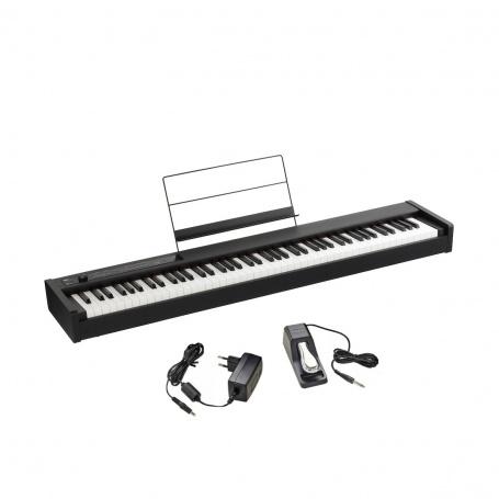 KORG D1 bk - cyfrowe pianino klawiatura z Kronos RH3