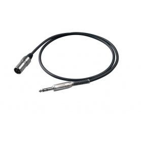 PROEL BULK230LU2 - kabel mikrofonowy Jack M - XLR M
