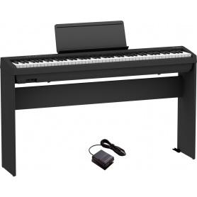 ROLAND FP-30X BK - pianino cyfrowe + statyw ROLAND KSC70 BK