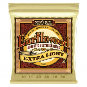 ERNIE BALL 2006 EARTHWOOD Extra Light - struny do gitary akustycznej