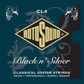 ROTOSOUND CL4 Black'n'Silver struny do gitary klasycznej