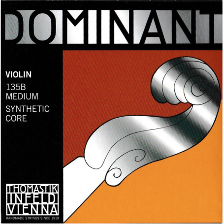 THOMASTIK Dominant 135B 4/4 struny do skrzypiec