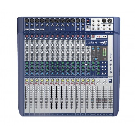 SOUNDCRAFT SIGNATURE 16 USB - 16 kanałów