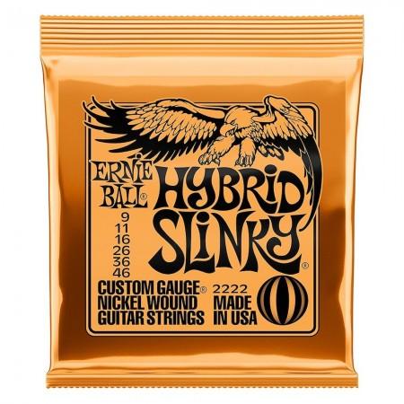 ERNIE BALL 2222 HYBRID SLINKY- struny do gitary elektrycznej