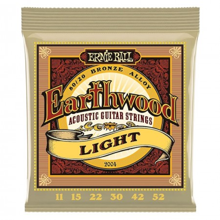 ERNIE BALL 2004 EARTHWOOD Light - struny do gitary akustycznej