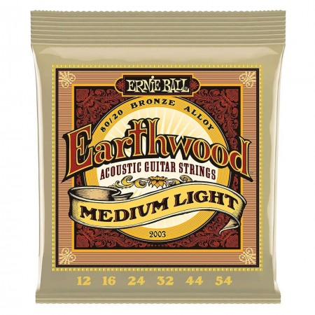 ERNIE BALL 2003 EARTHWOOD Medium Light - struny do gitary akustycznej