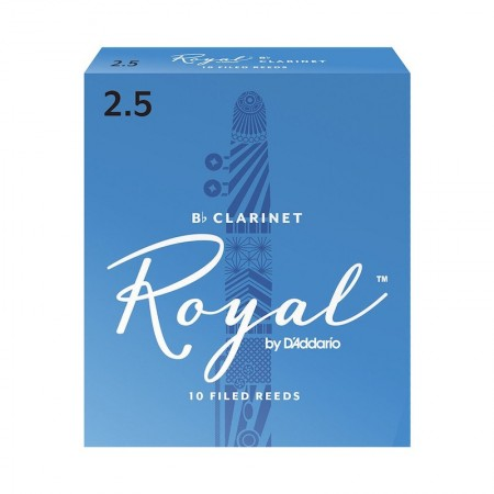D'ADDARIO Royal Reeds Bb Clarinet - Stroik do klarnetu Bb 2.5
