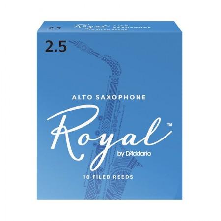 D'ADDARIO Royal Reeds Alto Saxophone - Stroik do saksofonu altowego 2.5
