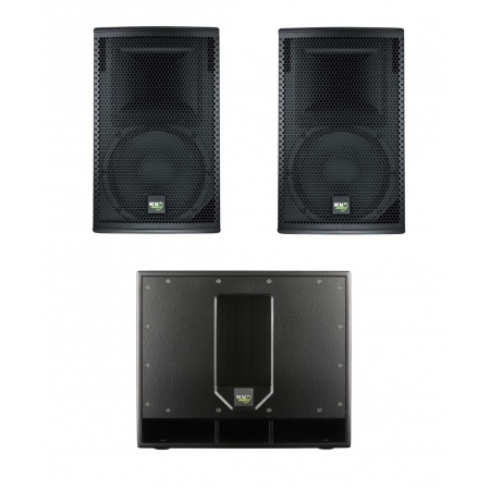 KV2 Audio EX 2.2 + 2x KV2 AUDIO EX12 - Zestaw aktywny
