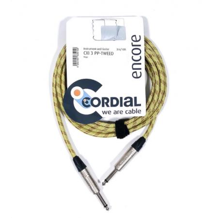 CORDIAL CXI 3 PP TWEED - kabel instrumentalny