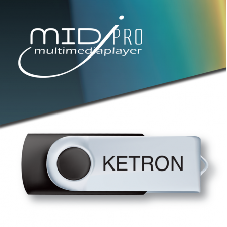 KETRON Pendrive 2016 MidJPro Style Upgrade v1 - pendrive z dodatkowymi stylami