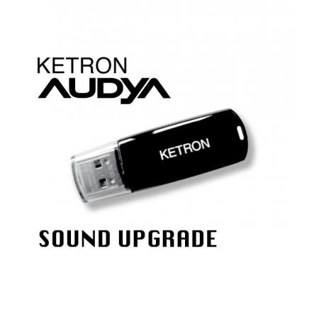 KETRON Pendrive 2012 AUDYA SOUND UPGRADE - pendrive z dodatkowymi stylami AUDYA
