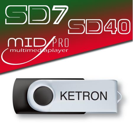 KETRON Pendrive 2016 Style POP - pendrive z dodatkowymi stylami Pop