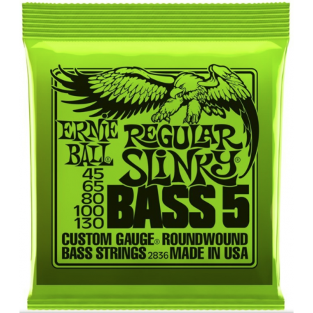 ERNIE BALL 2836 45/130 - struny do gitary basowej