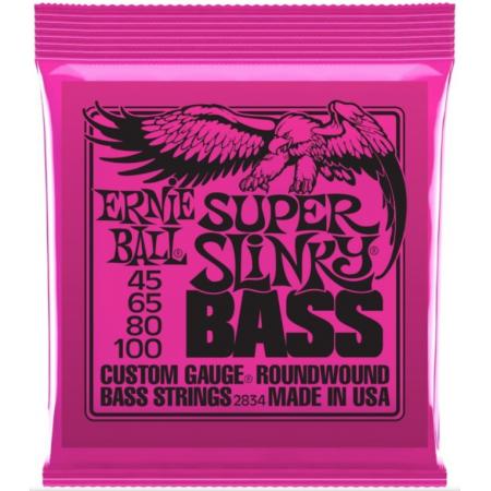 ERNIE BALL 2834 45/100 - struny do gitary basowej