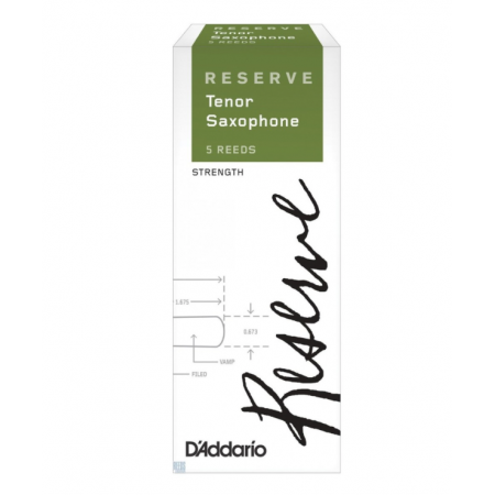 DADDARIO Reserve Tenor Saxophone Reeds 2.0 - Stroik do saksofonu tenorowego 2.0