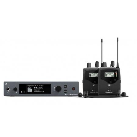 SENNHEISER EW IEM G4-twin-A bezprzewodowy osobisty sytem monitorowy, pasmo A 516-558 MHz