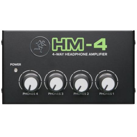 MACKIE HM-4 Headphone Amp - wzmacniacz słuchawkowy