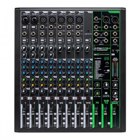 MACKIE Pro FX12 v3 - 12-kanałowy mikser analogowy USB