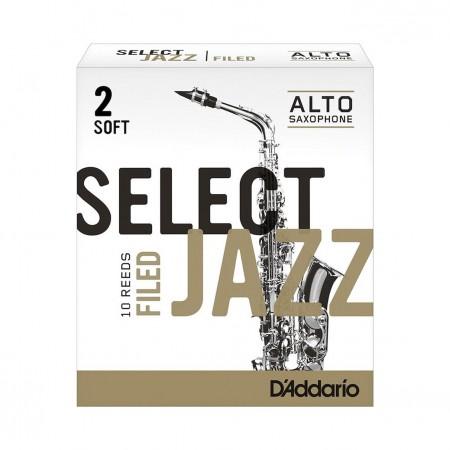 D'ADDARIO Select Jazz Alto Saxophone - Stroik do saksofonu altowego 2S