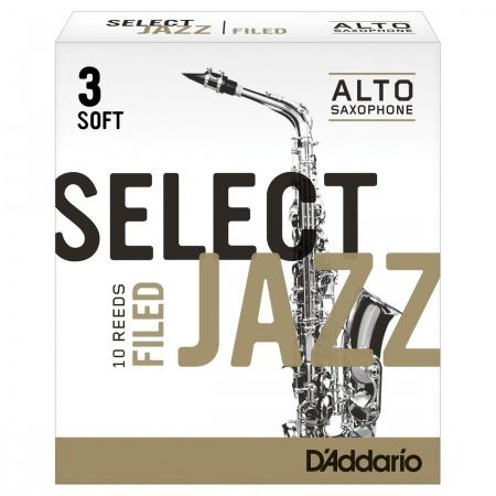 DADDARIO Select Jazz Alto Saxophone - Stroik do saksofonu altowego 3S