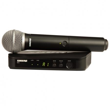 SHURE BLX24/PG58 - mikrofon bezprzewodowy doręczny