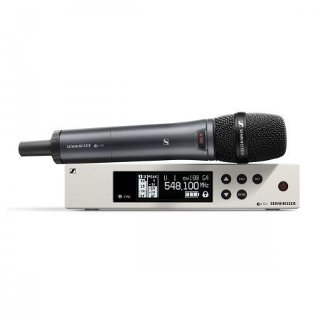 SENNHEISER EW 100 G4-835-S-A - uniwersalny system bezprzewodowy dla wokalistów i prezenterów 516-558 Mhz.