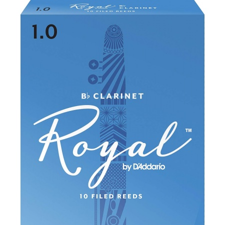 D'ADDARIO Royal Reeds Bb Clarinet - Stroik do klarnetu Bb 1.0