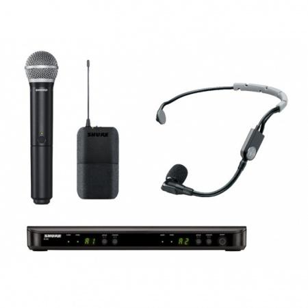SHURE BLX1288/SM35 - mikrofon bezprzewodowy podwójny