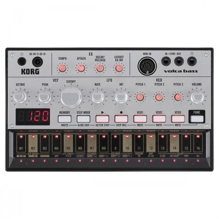 KORG Volca Bass - analogowy syntezator basu