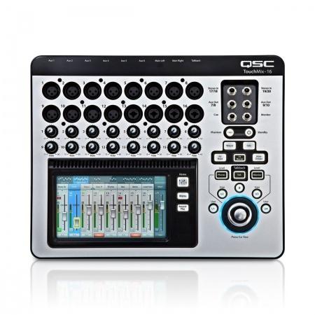 QSC TOUCHMIX 16 - mikser cyfrowy + walizka