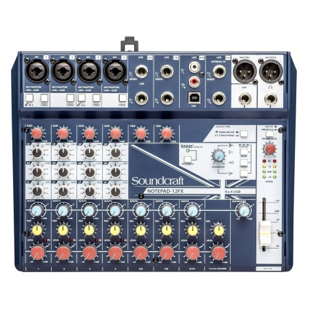 SOUNDCRAFT NOTEPAD 12FX - Mikser USB Procesor Lexicon